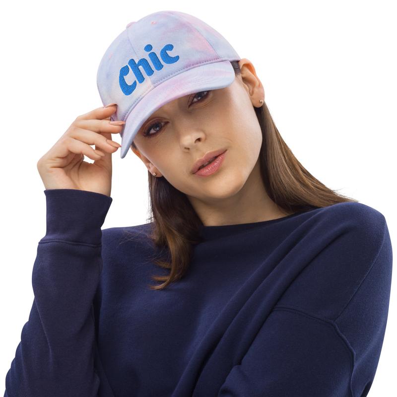 "Hot ""Chic"" Tie Dye Hat"