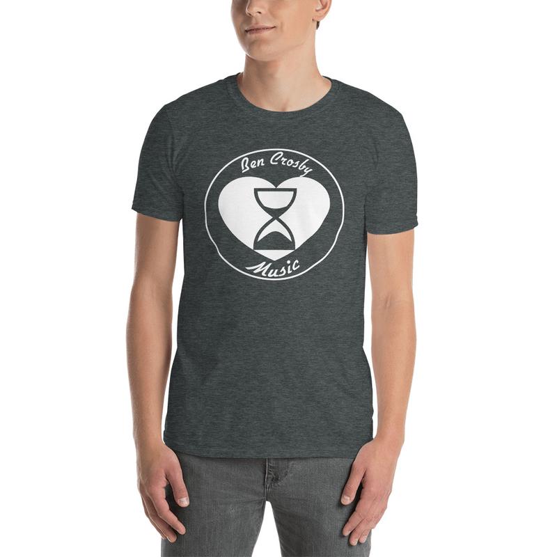"""Heart & Hourglass"" T-Shirt Unisex (7.95 Shipping)"