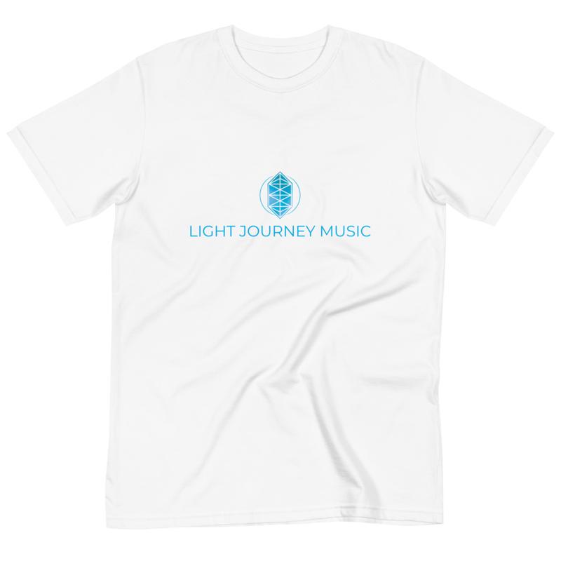 Light Journey Music Organic T (White)