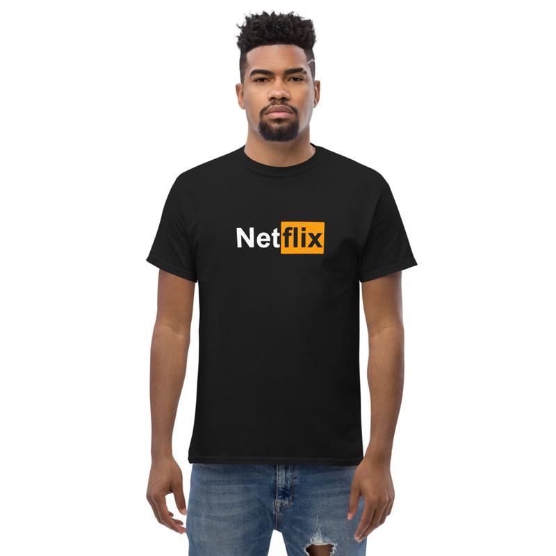 """T-shirt """"NetHub"""" (black)"""