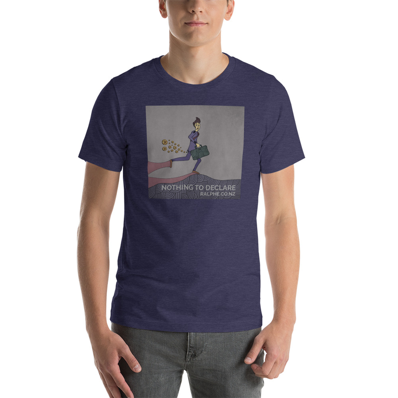 Bitcoin Nothing2Declare Short-Sleeve Unisex T-Shirt