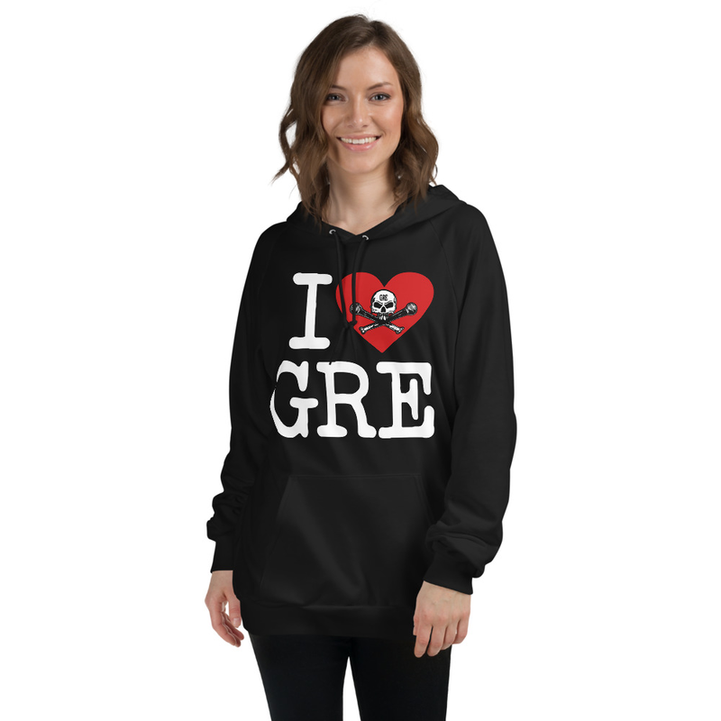 "Unisex ""I Heart GRE"" Hoody"