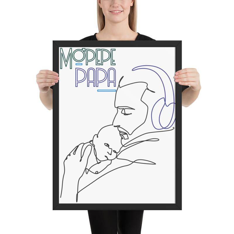 Mopepe Papa Poster