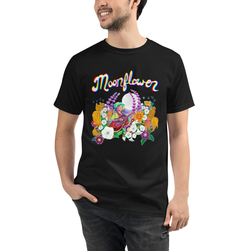 Organic Unisex Moonflower T-Shirt