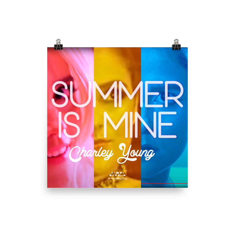 Summer is Mine Poster