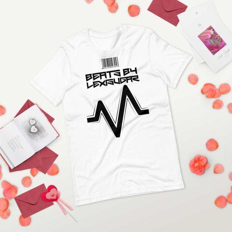 Beats By Lexisugar Short-Sleeve Unisex T-Shirt [White]
