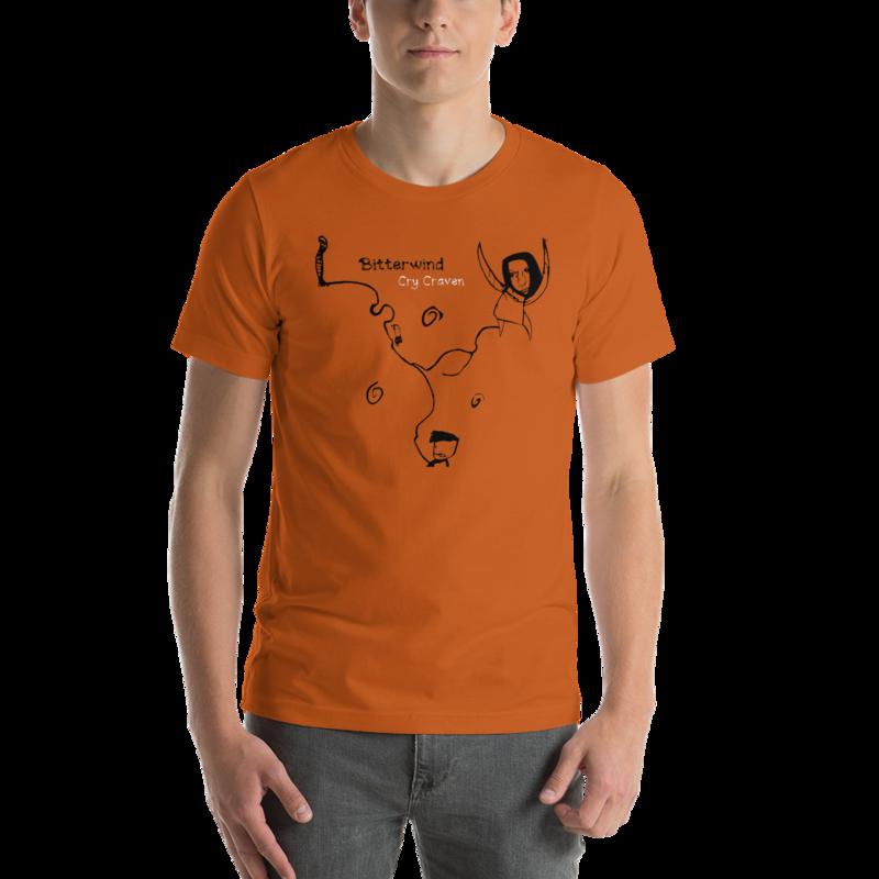 Bitterwind Cry Craven - Short-Sleeve Unisex T-Shirt