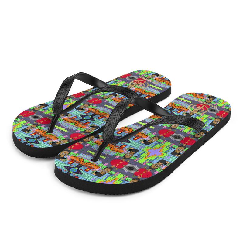 RBT Artwork Flip-Flops