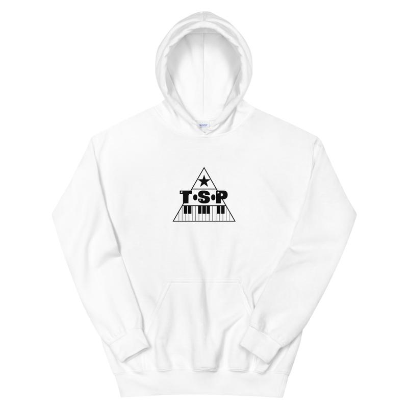 WHITE TSP HOODIE
