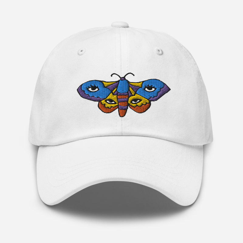 Aaron Sprinkle - Embroidered Moth Dad Hat
