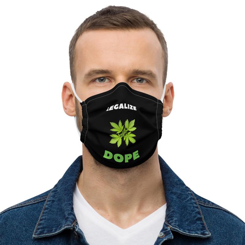 Legalized Dope Premium face mask