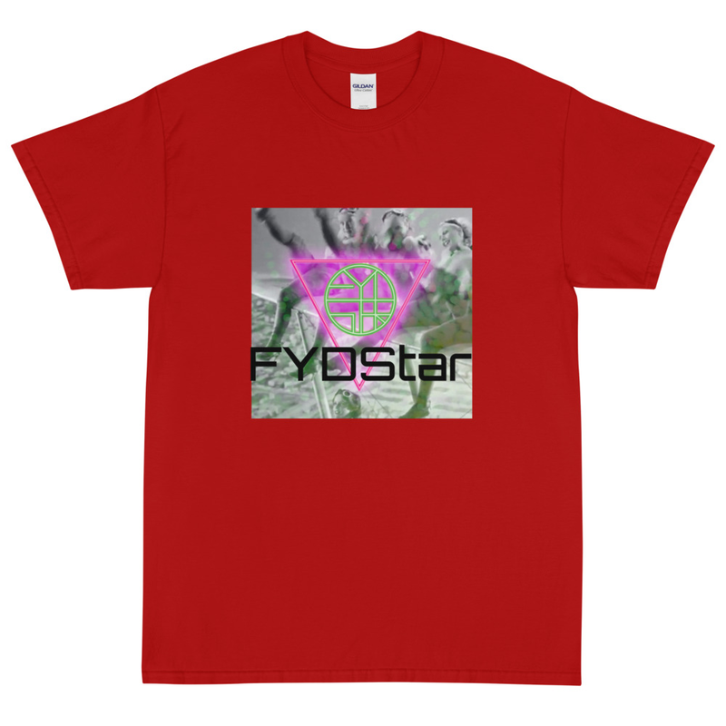 FYDStar's Flying Ladies Who Kick - Short Sleeve T-Shirt - 3XL to 5XL only