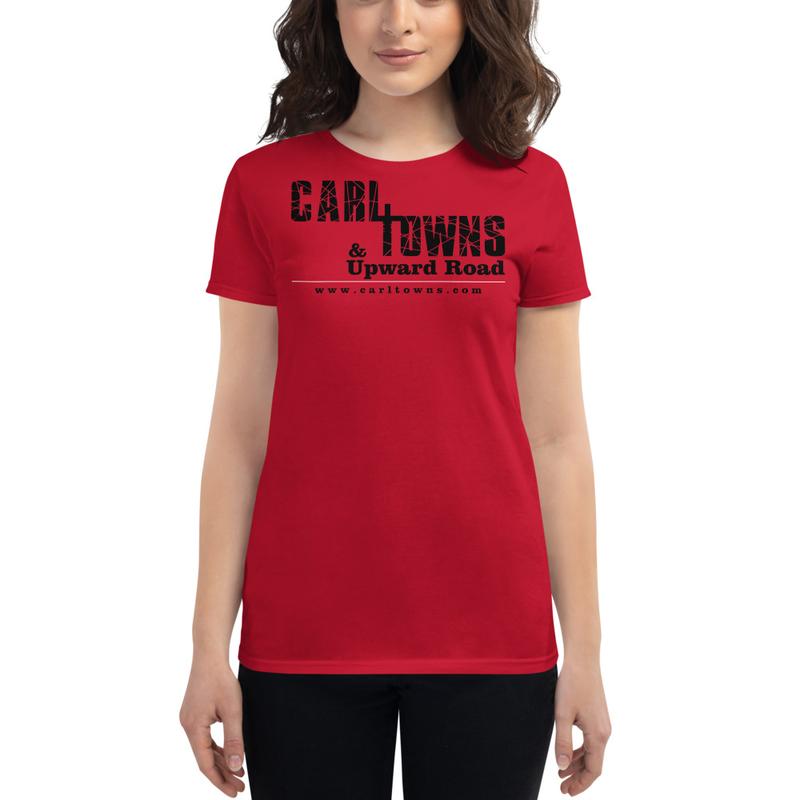 Carl T. Black Logo - Women's short sleeve t-shirt