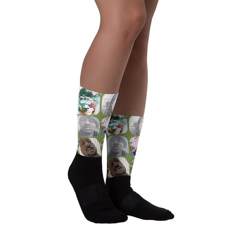 """""""Collectable"""" Socks - Money Green"""