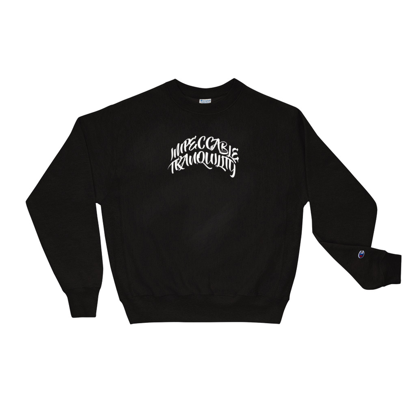 Impeccable Tranquility Champion Sweatshirt