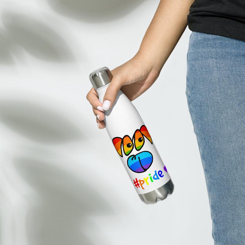 Pride Stainless Steel Water Bottle