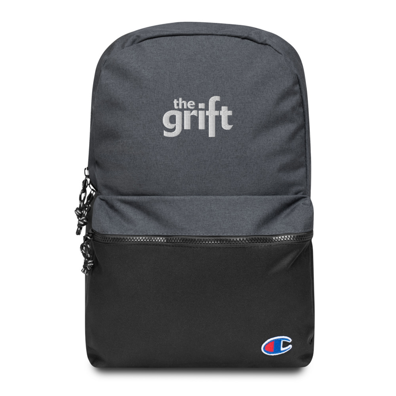 Embroidered Champion Backpack - Classic Logo