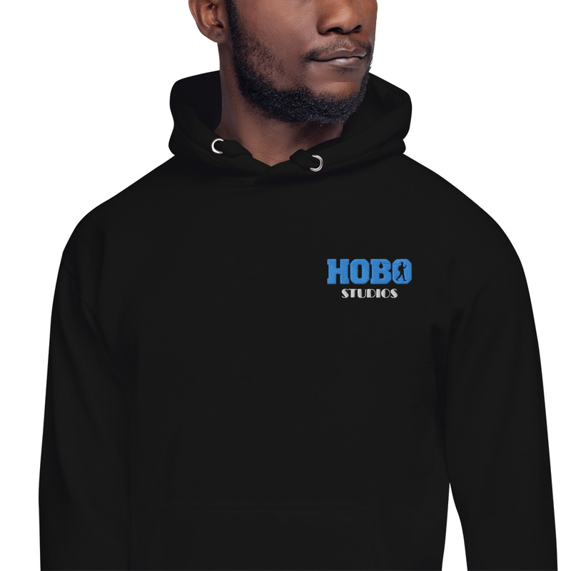 Hobo Studios Embroidered Unisex Hoodie