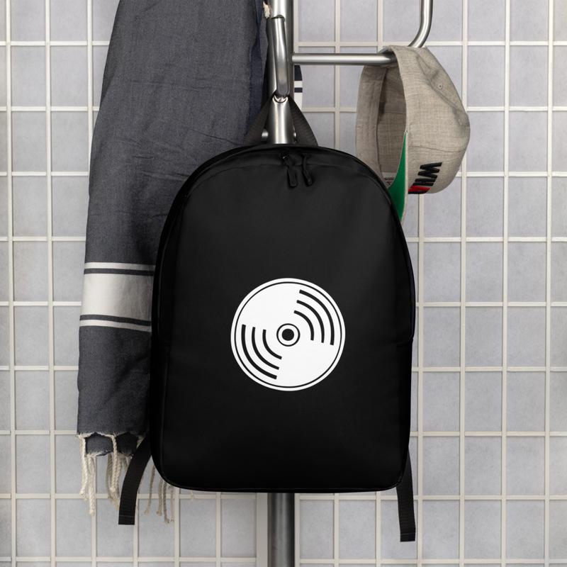 Minimalist Backpack - Black Vinyl