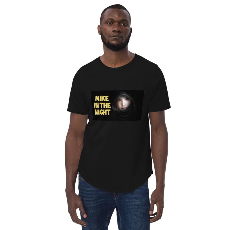 Mike Curved Hem T-Shirt