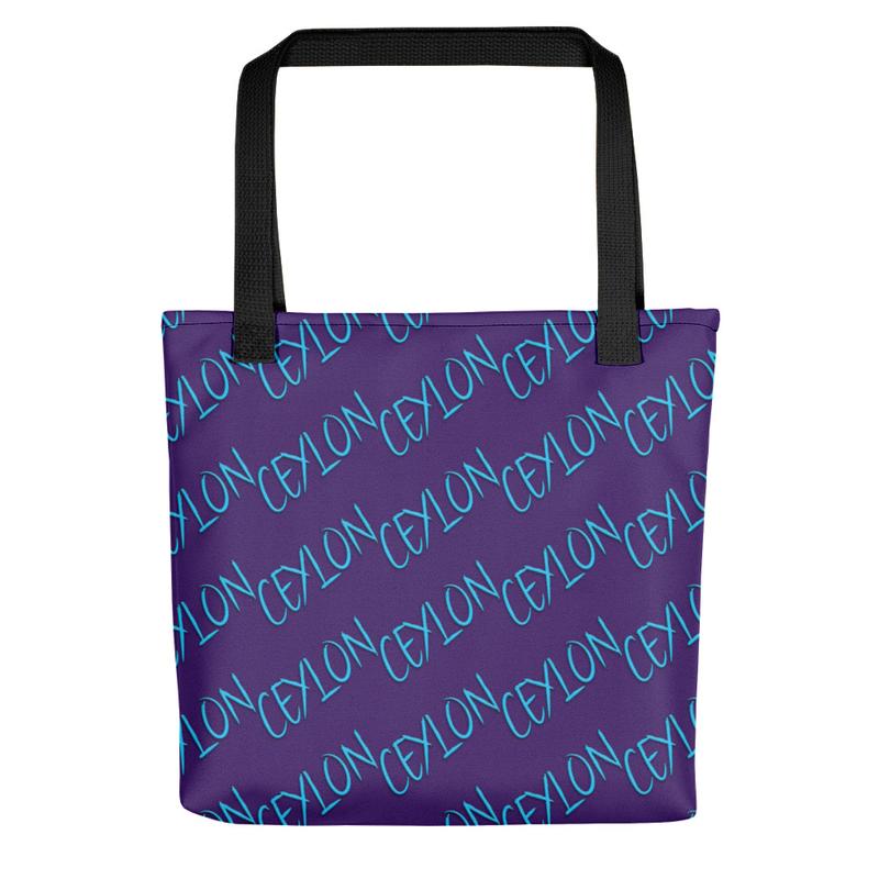 Ceylon Purple Tote Bag