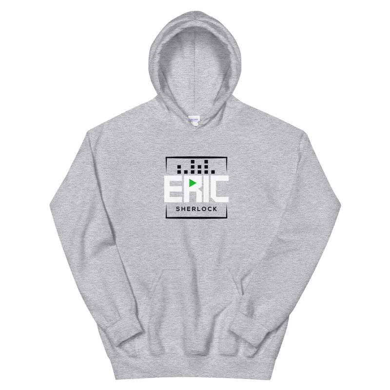 Play Button Logo - Hoodie
