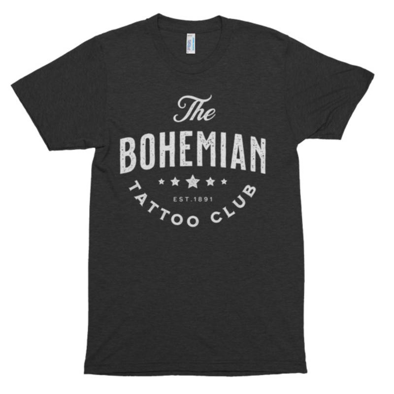Bohemian Star Shirt` - Tri-Black