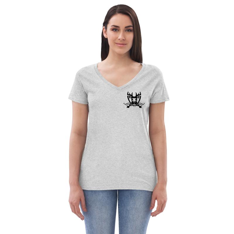 BOWEN Women's recycled v-neck t-shirt