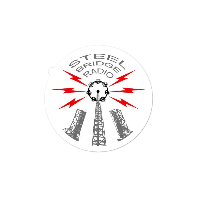 Steel Bridge Radio Sticker