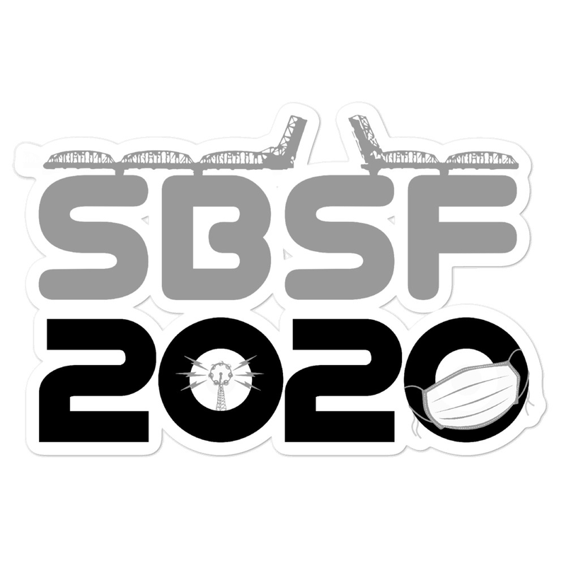 SBSF2020 Mask Sticker