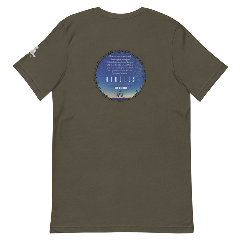 """Circles"" - TW Lyric Line T-shirt"