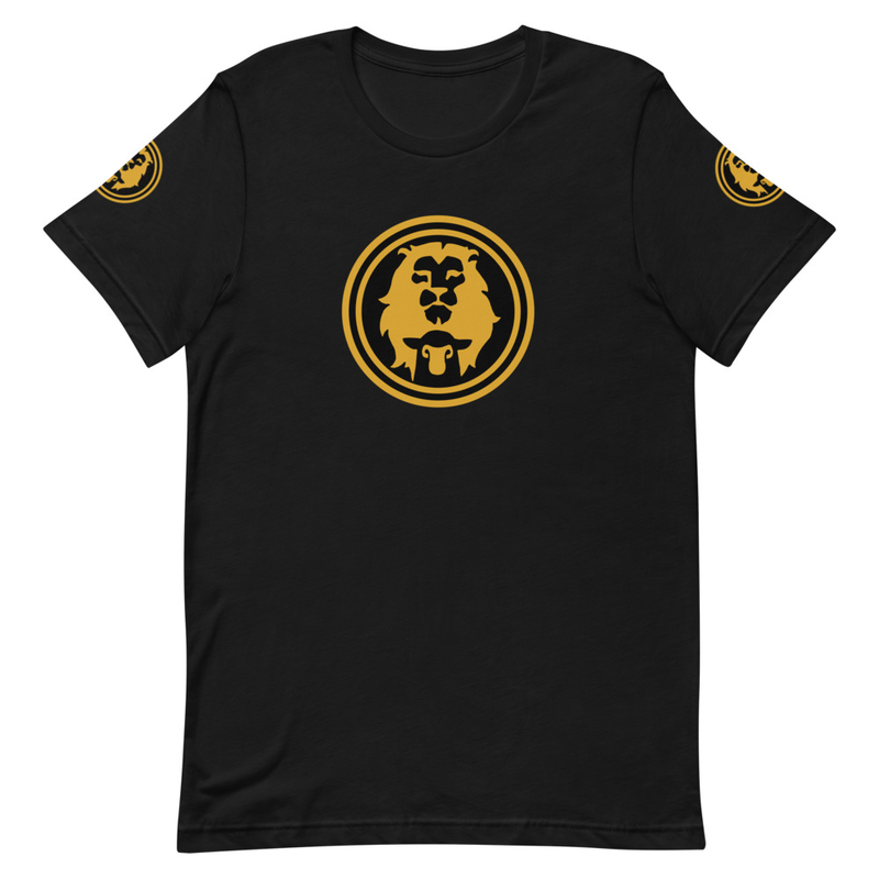 Lion & Lamb (Royal Gold Edition) unisex tshirts