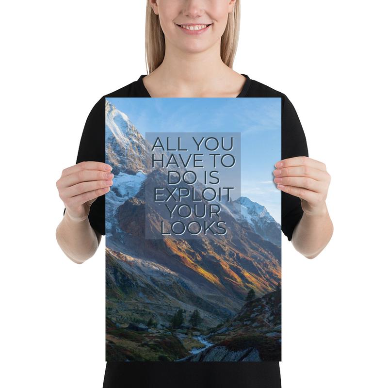 Vista Poster