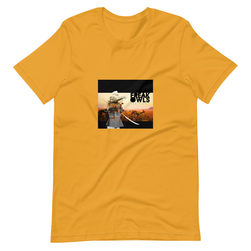 Short-Sleeve Unisex T-Shirt (Freak Owls - Taxidermy)