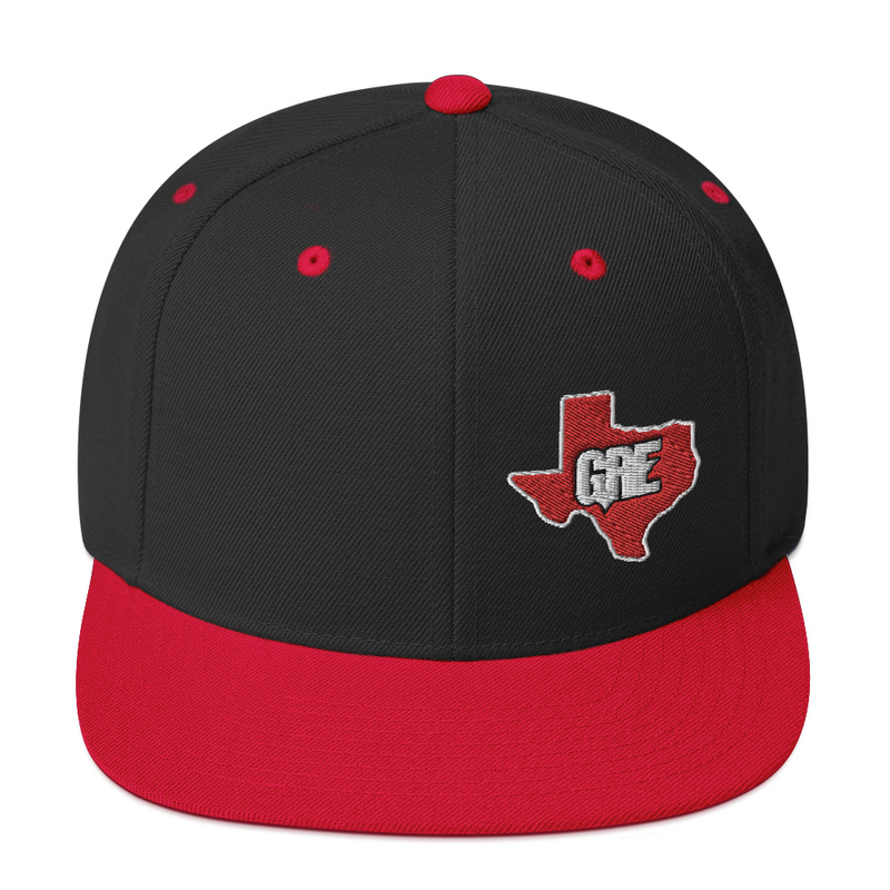 GRE Texas Logo Snapback Hat