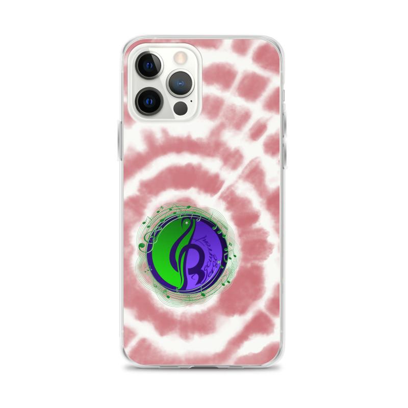 iPhone Tie Dye Logo Case Red