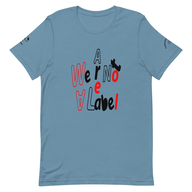 CDMG Custom We Are Not A Label Short-Sleeve Unisex T-Shirt