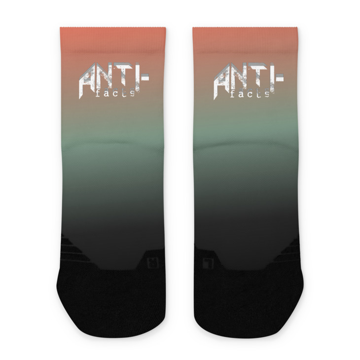 Anti-facts Deadbow Ankle socks