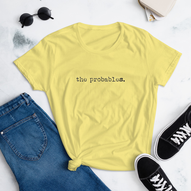 The Probables Women's Cut Tee