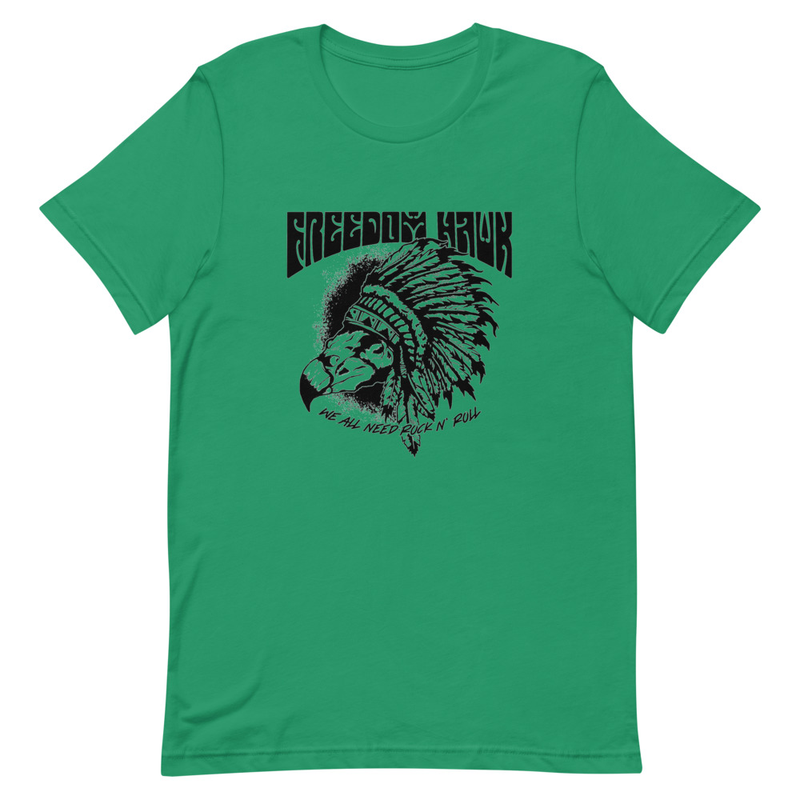 We All Need Rock n Roll - Colored Short-Sleeve Unisex T-Shirt