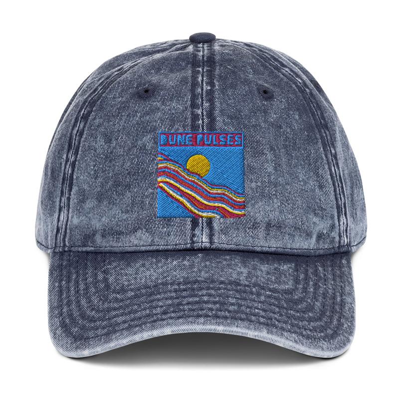 Vintage Cotton Twill Cap (Dune Pulses - Happy Day)