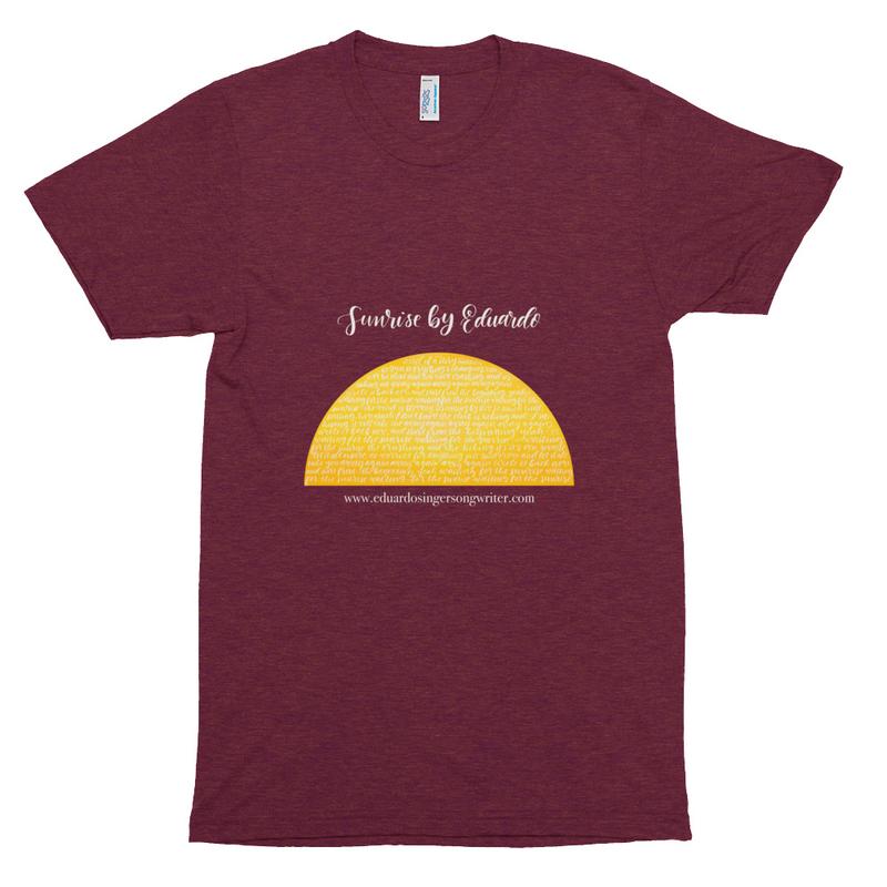Sunrise Unisex Tri-Blend Track Shirt