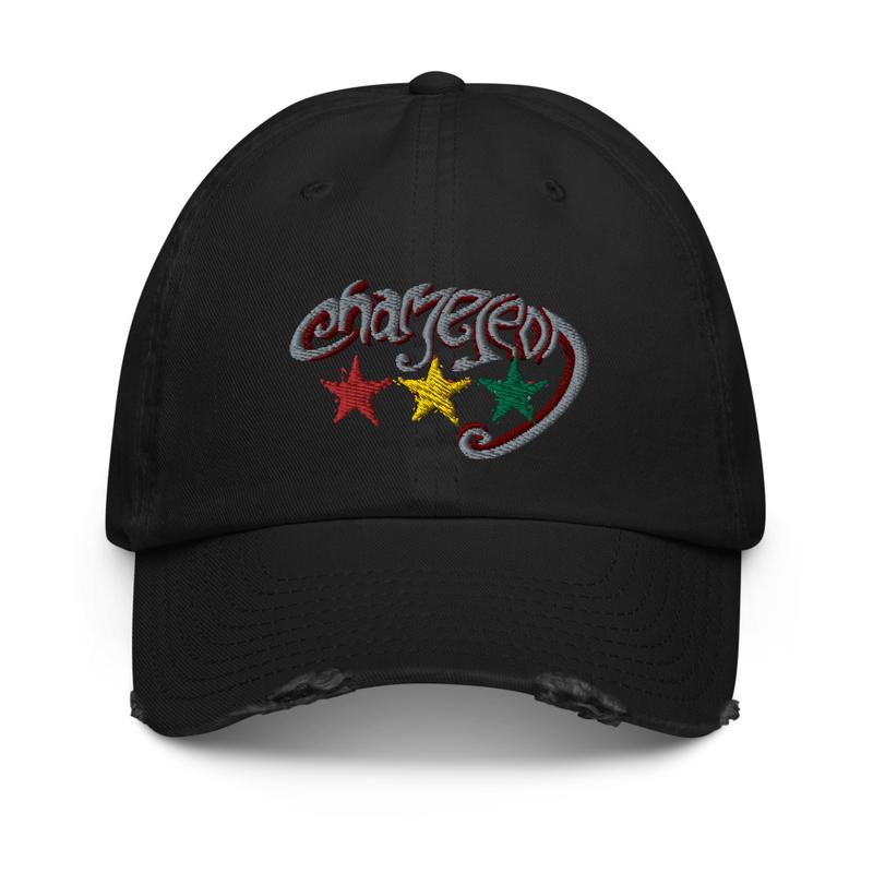 Chameleon Distressed Unisex Cap
