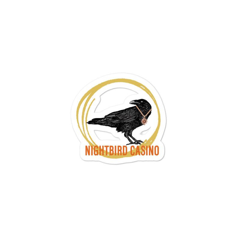 Nightbird Casino sticker