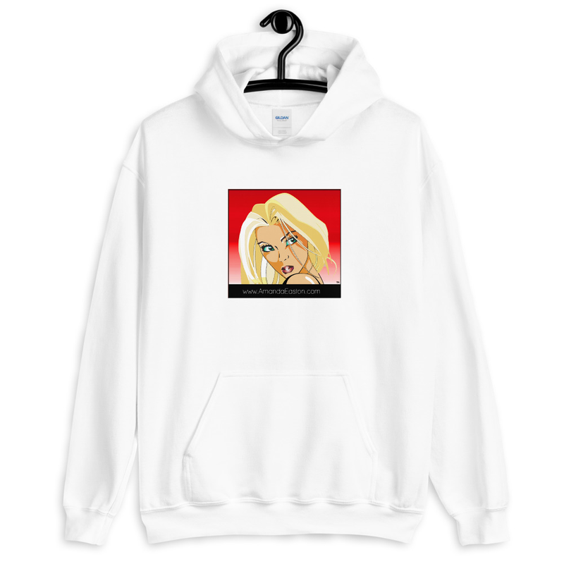 Blonde Manga Unisex Hoodie