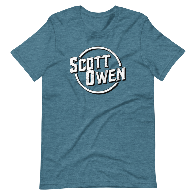 Scott Owen Logo Short-Sleeve Unisex T-Shirt