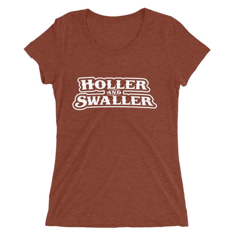 Holler and Swaller Ladies' short sleeve t-shirt