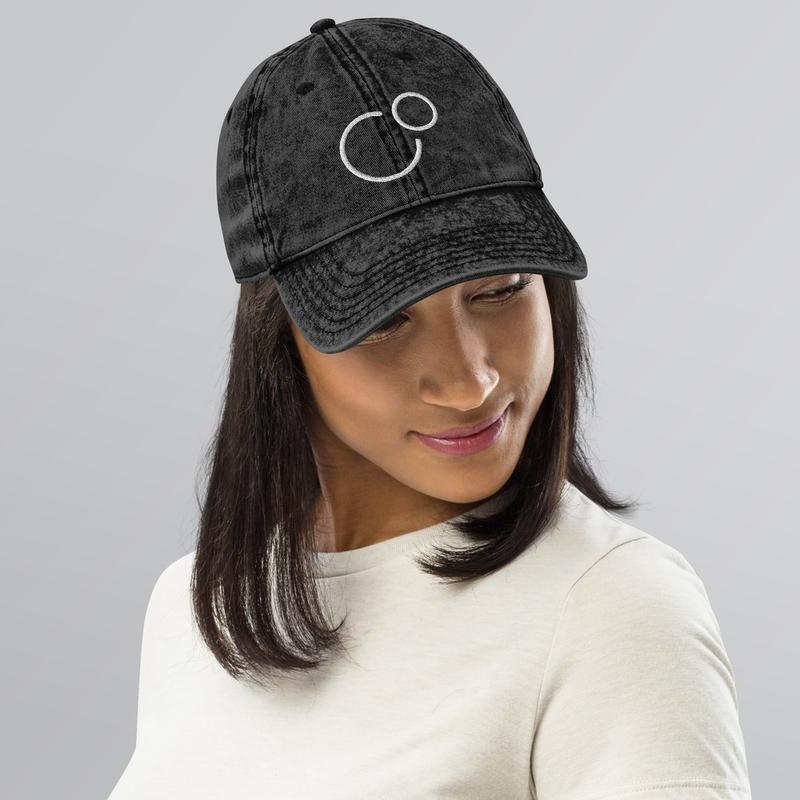 Vintage Cotton Twill Cap