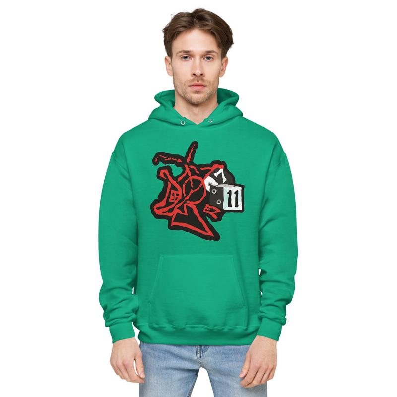 DefBoy Unisex fleece hoodie