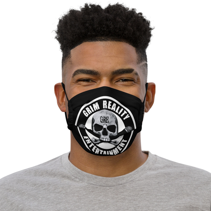 GRE Logo Premium Face Mask